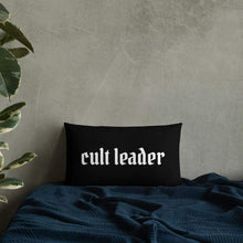 Load image into Gallery viewer, Cult Leader Pillow Deven Rue