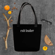 Load image into Gallery viewer, Cult Leader Tote bag Deven Rue