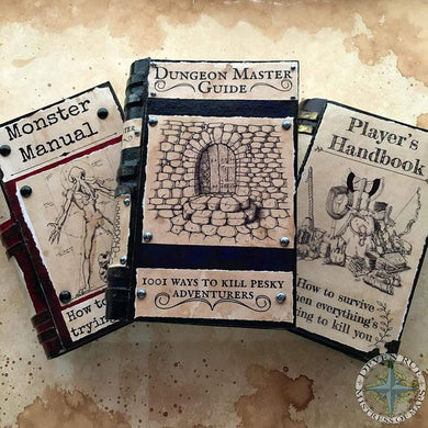 D&D Themed Prop Book Covers Bundle of all 3 Deven Rue