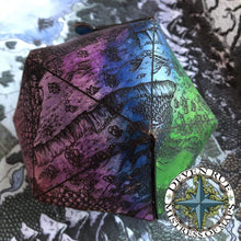 Load image into Gallery viewer, D20 Pouch Pattern Deven Rue
