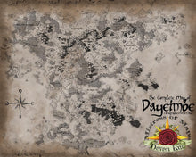 Load image into Gallery viewer, Dayeimbe Map Map Downloads Parchment Deven Rue