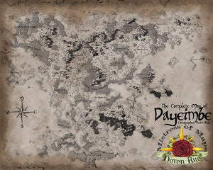 Dayeimbe Map Map Downloads Parchment Deven Rue