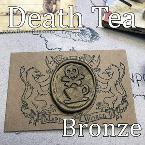 Death Tea Wax Seals Props Deven Rue