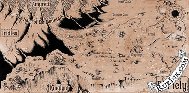 Din'Tely Map Map Downloads Parchment Deven Rue