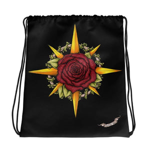 Druid Compass Drawstring Bag Deven Rue