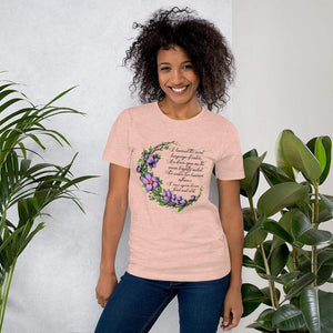 Druid Moon Short-Sleeve Unisex T-Shirt Heather Prism Peach / S Deven Rue
