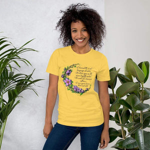 Druid Moon Short-Sleeve Unisex T-Shirt Yellow / S Deven Rue