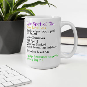 Epic Spot of Tea Mug Mug Deven Rue