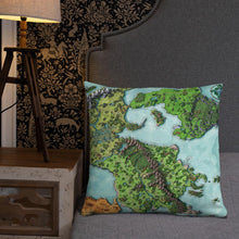 Load image into Gallery viewer, Euphoros Pillows Pillow 22×22 Deven Rue