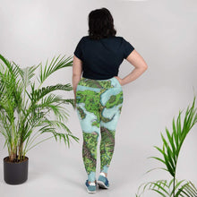Load image into Gallery viewer, Euphoros Print Plus Size Leggings Deven Rue