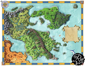 Euphoros Printed Map Prop Maps Deven Rue
