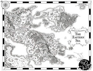 Euphoros Printed Map Prop Maps With text Deven Rue