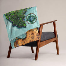 Load image into Gallery viewer, Euphroros Minky Throw Blanket Blanket Deven Rue
