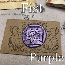 Load image into Gallery viewer, Fist Wax Seals Props Deven Rue