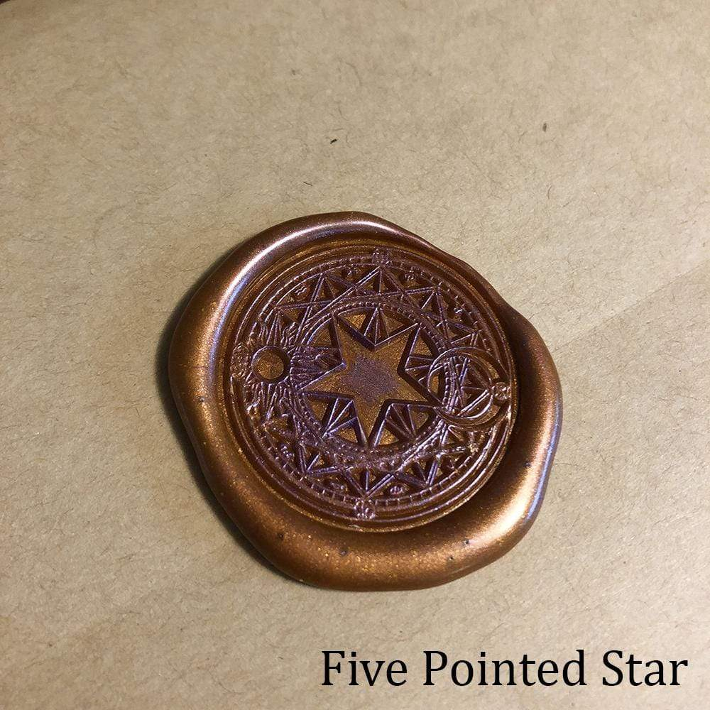Five Point Star Wax Seals Props Deven Rue