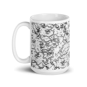 Forever Marshes Map Mug Mug Deven Rue