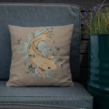 Load image into Gallery viewer, Golden Carp Premium Pillow Deven Rue