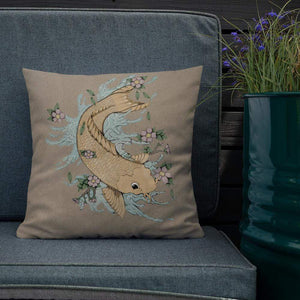 Golden Carp Premium Pillow Deven Rue