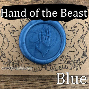 Hand of the Beast Wax Seals Props Deven Rue