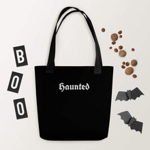 Load image into Gallery viewer, Haunted Tote bag by Deven Rue