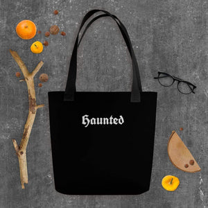 Haunted Tote bag by Deven Rue