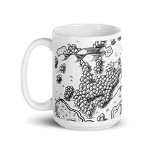 Load image into Gallery viewer, Heading to the Mines Map Mug Mug Deven Rue