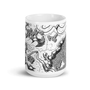 Humble Homestead Map Mug Mug Deven Rue