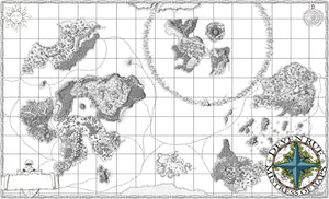 Ifiron Printed Map Prop Maps Without text Deven Rue