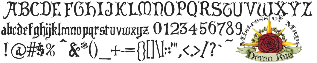Imperial Scribe Font Deven Rue