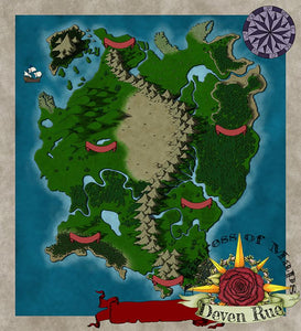 Kel'Dora Map Map Downloads Deven Rue