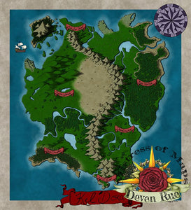 Kel'Dora Map Map Downloads Color Deven Rue