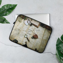 Load image into Gallery viewer, Kroako Map Photography Laptop Sleeve Laptop Sleeve 13 in Deven Rue