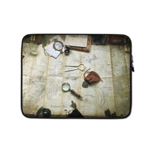 Load image into Gallery viewer, Kroako Map Photography Laptop Sleeve Laptop Sleeve Deven Rue