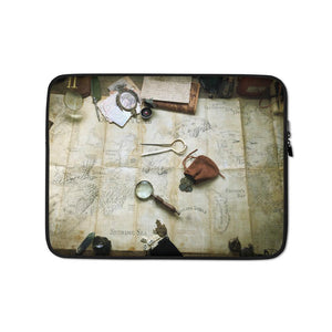 Kroako Map Photography Laptop Sleeve Laptop Sleeve Deven Rue