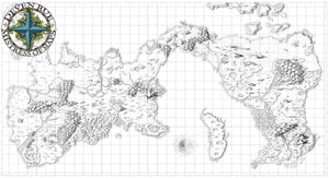 Kroako Printed Map Prop Maps Without text Deven Rue