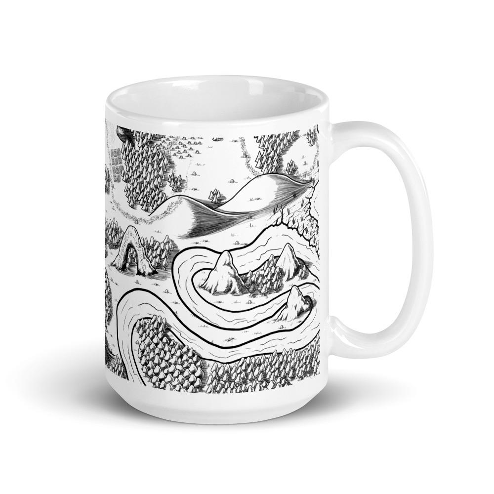 Magical Arch Map Mug Mug Deven Rue