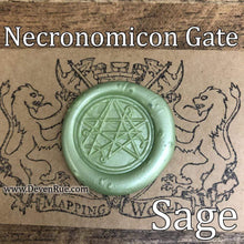 Load image into Gallery viewer, Necronomicon Gate Wax Seals Props Deven Rue