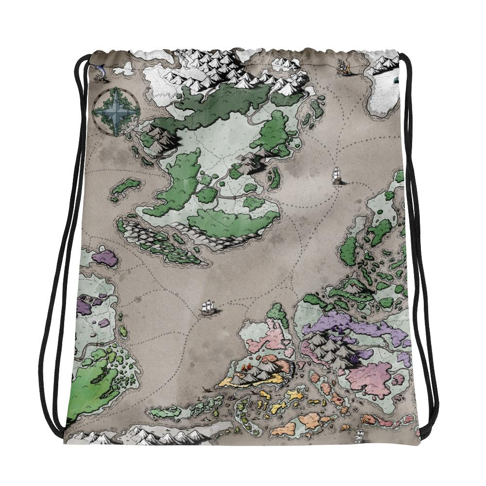 Ortheiad Drawstring Bag Bag Deven Rue