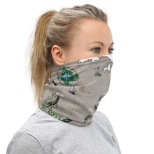 Load image into Gallery viewer, Ortheiad Map Neck Gaiter Deven Rue