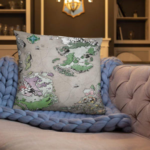 Ortheiad Pillows Pillow 22×22 Deven Rue