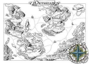 Ortheiad Printed Map Prop Maps With text Deven Rue