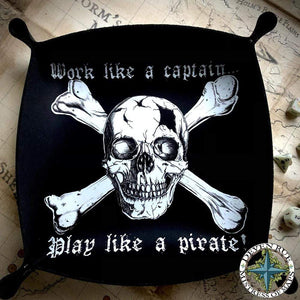 Play Like A Pirate Snappy Dice Tray Gaming Accessories Deven Rue