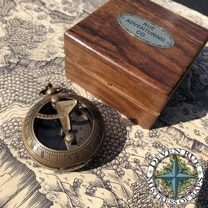 Pocket Compass & Sundial Navigational Tools Deven Rue