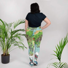 Load image into Gallery viewer, Queen's Treasure Map Plus Size Leggings Deven Rue
