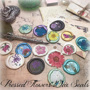 Real Wildflowers Wax Seals Props Deven Rue
