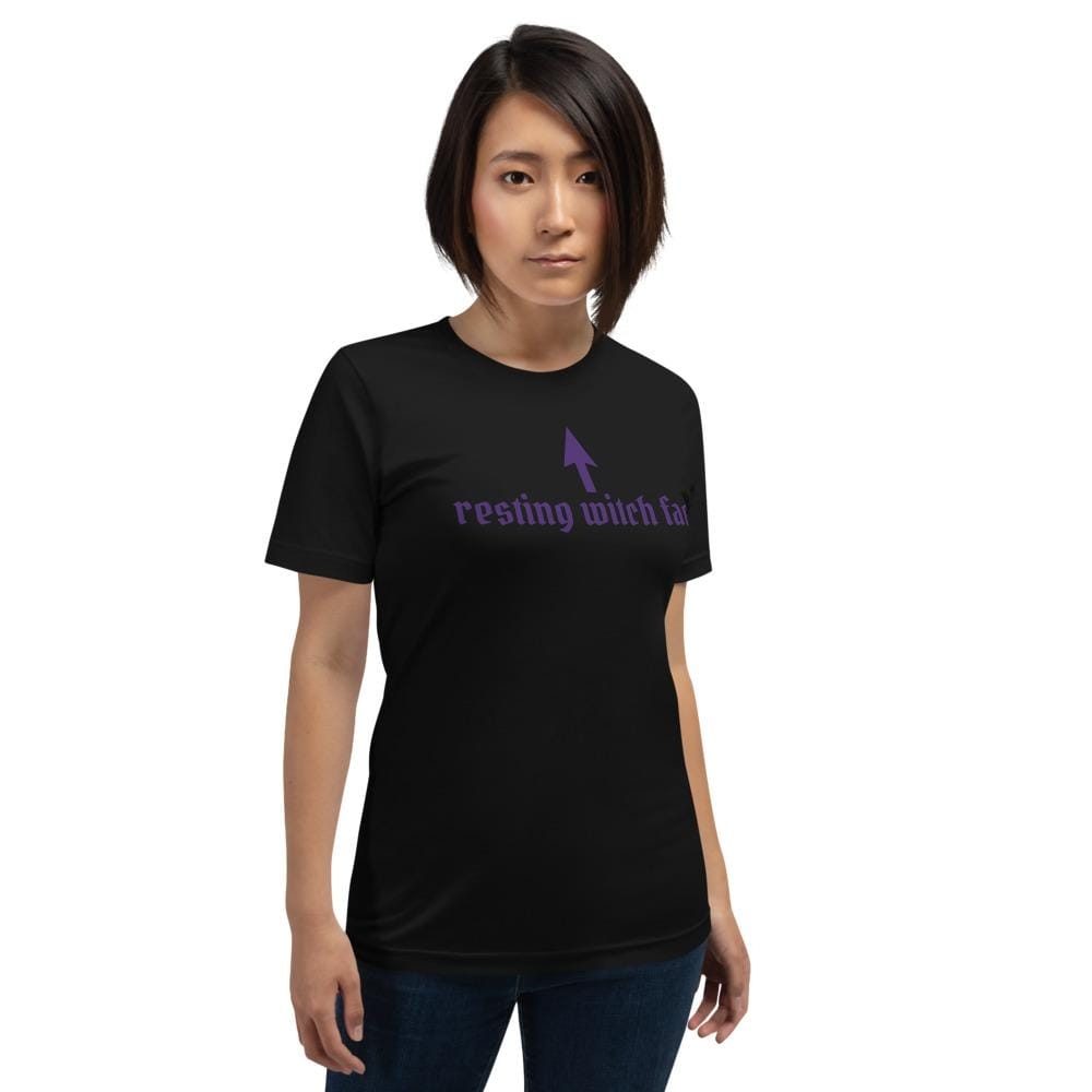 Resting Witch Face Unisex T-Shirt XS Deven Rue