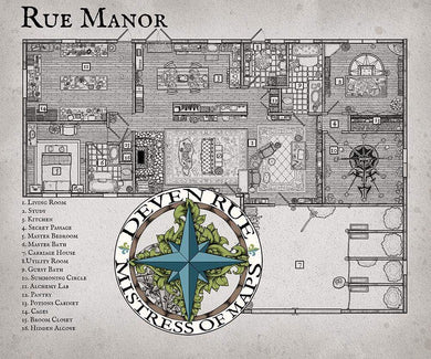 Rue Manor Prop Map Prop Maps Deven Rue
