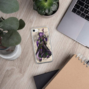 Rue the Cartographer iPhone Case iPhone 7/8 Deven Rue