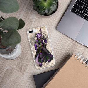 Rue the Cartographer iPhone Case iPhone 7 Plus/8 Plus Deven Rue
