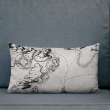 Load image into Gallery viewer, Sailing into the Unknown Pillow Deven Rue